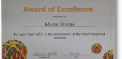 OfficeMax Award of Excellence